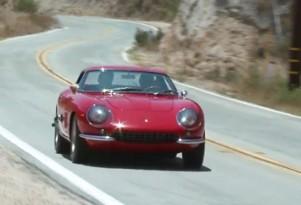 Jay Leno driving a 1967 Ferrari 275 GTB/4
