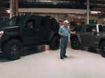 Jay Leno gets a visit from the USSV Rhino GX