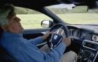 Jay Leno Creates Classic Stunt In A 2015 Volvo V60 Polestar: Video