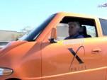 Jay Leno in the Tango EV