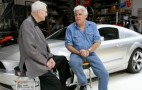 Video: Jay Leno Does A Burnout In Lee Iacocca's Mustang