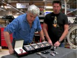 Jay Leno looks at Bianci Watches