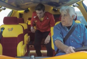 Jay Leno looks at larger-than-life vehicles
