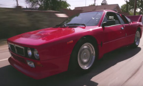 Jay Leno loves the analog nature of the 1982 Lancia Stradale