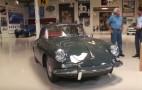 Jay Leno Invites A Perfectly Resto-Modded Porsche 356 Into His Garage