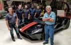 Watch Jay Leno's 2017 Ford GT get a protective wrap