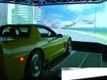 Jay Leno tests the Real Car Simulator