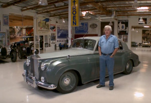 Jay Leno welcomes Jonathon Ward and his 1958 Rolls-Royce Silver Cloud Derelict