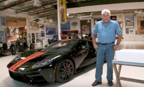 Jay Leno with his 2017 Ford GT