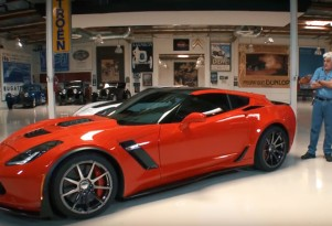 Jay Leno with the Callaway C21 AeroWagon