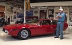 Jay Leno shows off his 1969 Lamborghini Espada