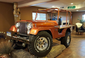 "This Jeep CJ-5 ""Brew-ser"" sets new standard for all home bars"