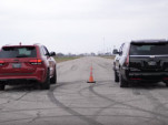 Jeep Grand Cherokee Trackhawk vs. Hennessey HPE800 Cadillac Escalade