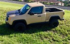 Custom Jeep Renegade pickup echoes Comanche of yore, and it can be yours