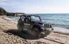 Italian Police prepped for beach patrol with new Jeep Wrangler
