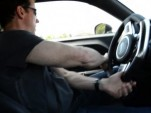 Jeff Dunham testing out the Challenger SRT8 that will become his SEMA project car
