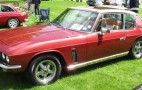 Muscle machine: Jay Leno drives a 1974 Jensen Interceptor