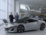 Jerry Seinfeld and the Acura NSX concept