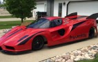 Check out this jet-powered, homemade Ferrari Enzo-lookalike