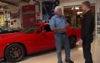 2015 Dodge Challenger SRT Hellcat Visits Jay Leno's Garage: Video