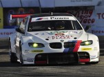 Joey Hand's BMW M3 in action at Long Beach - Anne Proffit photo
