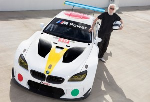 John Baldessari BMW M6 GT3 Art Car