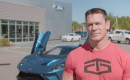 John Cena with the 2017 Ford GT