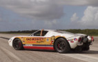 Johnny Bohmer looks to break 300 mph in his Ford GT