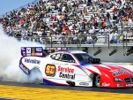 Johnny Gray at the Gatornationals Photo: Anne Proffit