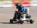 Jolene Van Vugt sets world land speed record--on a toilet