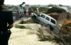 Linebacker Junior Seau Tackles Cliff With Cadillac Escalade, Survives
