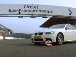 Junior Strous on track at Spa Francorchamps