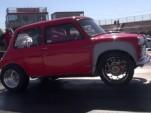 K-Series-swapped classic Mini pulls wheelies at the drag strip