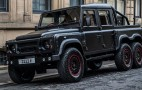 Kahn Design rolls out 6-wheeled Flying Huntsman Defender pickup