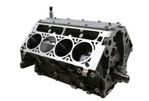 Katech 416 ci LS3-based V-8 short block.