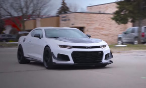 Katech adds a whipple supercharge to a 2018 Chevy Camaro ZL1 1LE