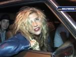 Ke$ha in a 1979 Oldsmobile Ninety-Eight
