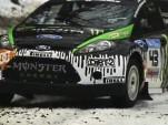 Ken Block testing the Monster Fiesta rally car ahead of Sno*Drift