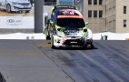 Loeb Conquers X Games RallyCross Track And Competition