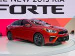 2019 Kia Forte, 2018 Detroit auto show