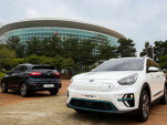Kia Niro EVs in Korea