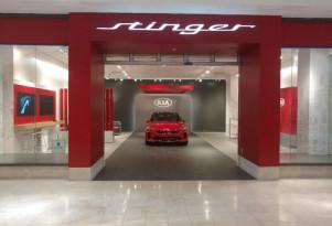Kia opening Stinger Salons