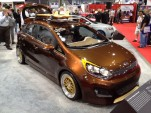 Kia Rio Surf by Antenna at 2011 SEMA show