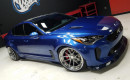 Kia Stinger Wide Body by West Coast Customs, 2017 SEMA show