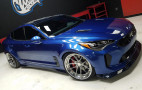 Prepare to drool: wide-body Kia Stinger debuts at SEMA