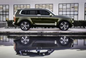 Kia Telluride could share K900's longitudinal, rear-drive underpinnings