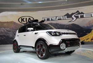 Kia Trail'ster e-AWD hybrid concept at 2015 Chicago Auto Show
