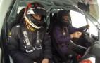 Kimi Raikkonen Teaches Ice Driving - Or Not: Video