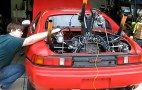 Video: Radial Engined Toyota MR2 Fires Up
