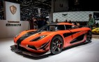 Koenigsegg Agera Final presented at 2016 Geneva Motor Show: Live photos